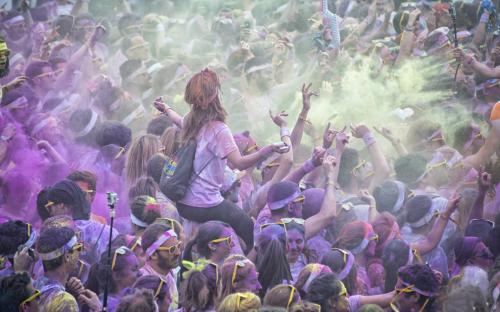 """Color run""    Marc TRIGALOU"